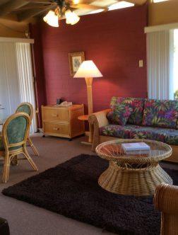 NEW One Bedroom Garden Bungalow 2 DBL Beds- 1 Q Sofa Sleeper – MAIN PICTURE